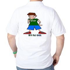 Boys Rule School T-Shirt