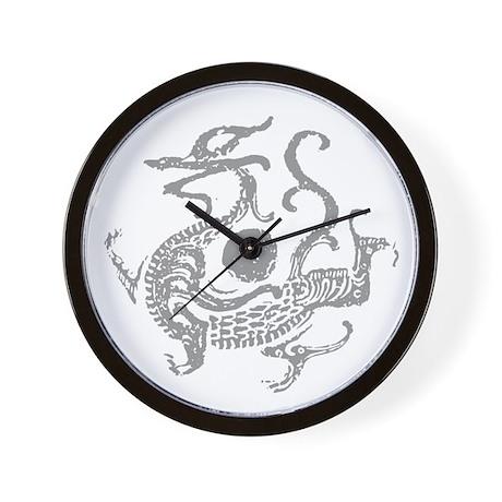 Chinese Ancient Dragon Wall Clock