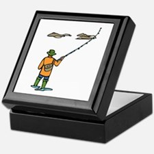 Fly Fishing Keepsake Box