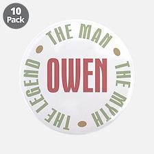 "Owen Man Myth Legend 3.5"" Button (10 pack)"
