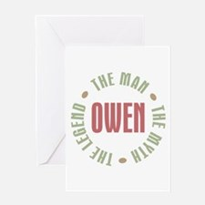 Owen Man Myth Legend Greeting Card