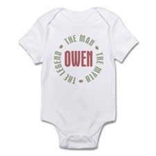 Owen Man Myth Legend Infant Bodysuit