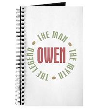 Owen Man Myth Legend Journal