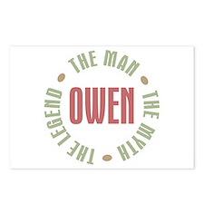 Owen Man Myth Legend Postcards (Package of 8)