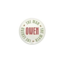 Owen Man Myth Legend Mini Button (10 pack)