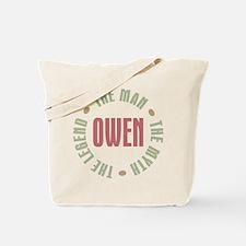 Owen Man Myth Legend Tote Bag