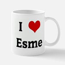 I Love Esme Mug