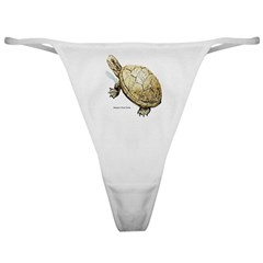 Western Pond Turtle Classic Thong