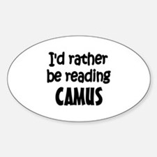 Camus Oval Decal