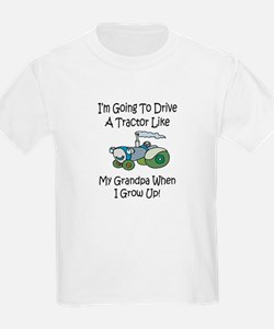 Cute Tractor Like My Grandpa T-Shirt
