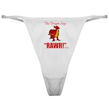 RAWR Classic Thong