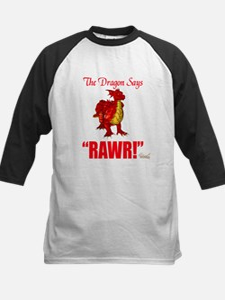RAWR Kids Baseball Jersey