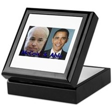 McCain and Able Keepsake Box