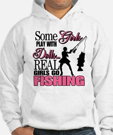 Real Girls Go Fishing Hoodie