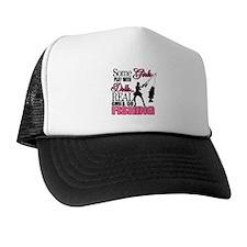 Real Girls Go Fishing Trucker Hat