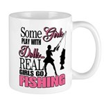 Real Girls Go Fishing Mug