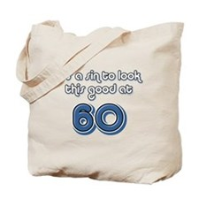 Sinful 60th Birthday Tote Bag