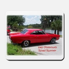 1967 Plymouth Road Runner Mousepad