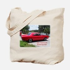 1967 Plymouth Road Runner Tote Bag