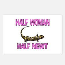 Half Woman Half Newt Postcards (Package of 8)