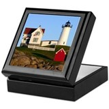 Maine lighthouses Keepsake Boxes