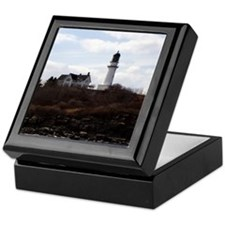 Cape Elizabeth Light Keepsake Box