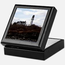Cape Elizabeth Light Keepsake Box
