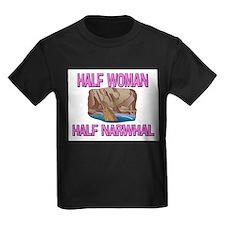 Half Woman Half Narwhal T