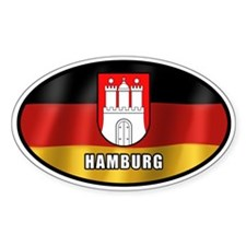 Hamburg coat of arms (white letters)