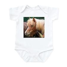 Classic Mini Horse Portrait Infant Creeper