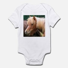 Classic Mini Horse Portrait Infant Creeper