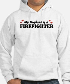 My Husband is a Firefighter Hoodie