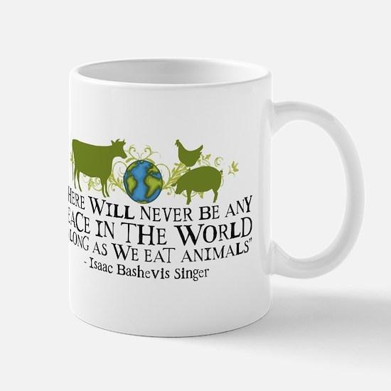 Never Be Peace - Wide Mug