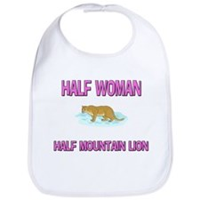 Half Woman Half Mountain Lion Bib