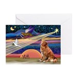 Xmas Star Nova Scotia Greeting Cards (Pk of 10)