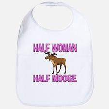 Half Woman Half Moose Bib