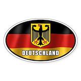 Germany car decal Single