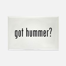 got hummer? Rectangle Magnet (10 pack)