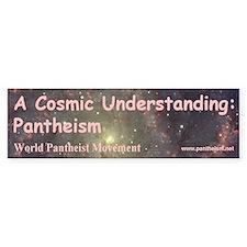 """A Cosmic Understanding"" Bumper Sticker"
