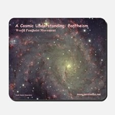 """""""A Cosmic Understanding"""" Mouse Pad"""