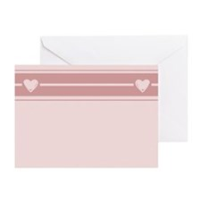 Lines and Hearts Greeting Cards (Pk of 20)