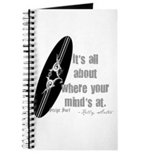 Where your mind's at surfboard Journal