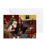 Santa's PWD Greeting Cards (Pk of 10)