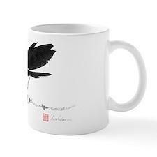 Chinese Brush Painting Bird Mug