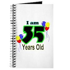 35th Birthday Journal