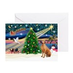 Xmas Magic & Rho Ridge Greeting Card