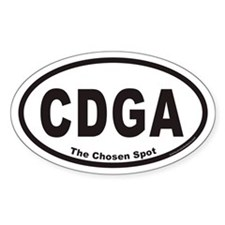 Canandaigua New York CDGA Euro Oval Decal