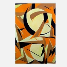 Cool Cubist art Postcards (Package of 8)