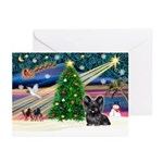 Xmas Magic/Skye Terrier Greeting Cards(Pk 20)