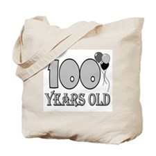 100th Birthday GRY Tote Bag